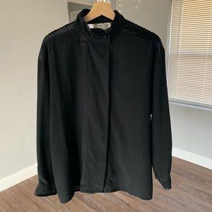Oscar de la renta vintage blouse